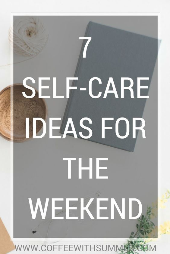 MUST READ: Make this weekend all about you! In no way is self-care selfish, sometimes we all just need a little me time. Read the post here.