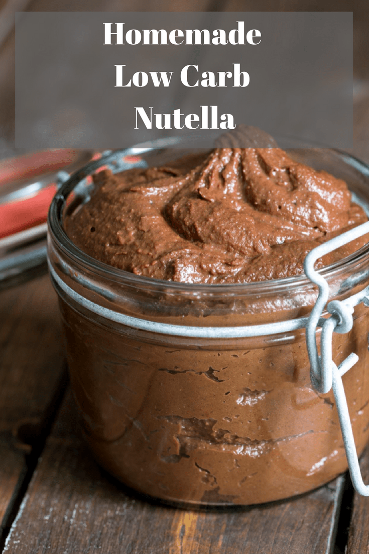 Homemade Low Carb Nutella