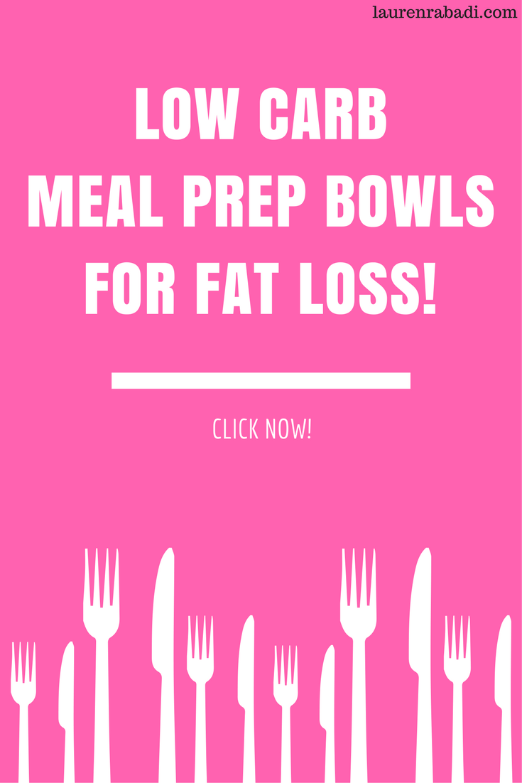 Low Carb Meal Prep Bowls To Make Now To Lose Weight Fast #lowcarb #mealprep #keto #paleo #whole30