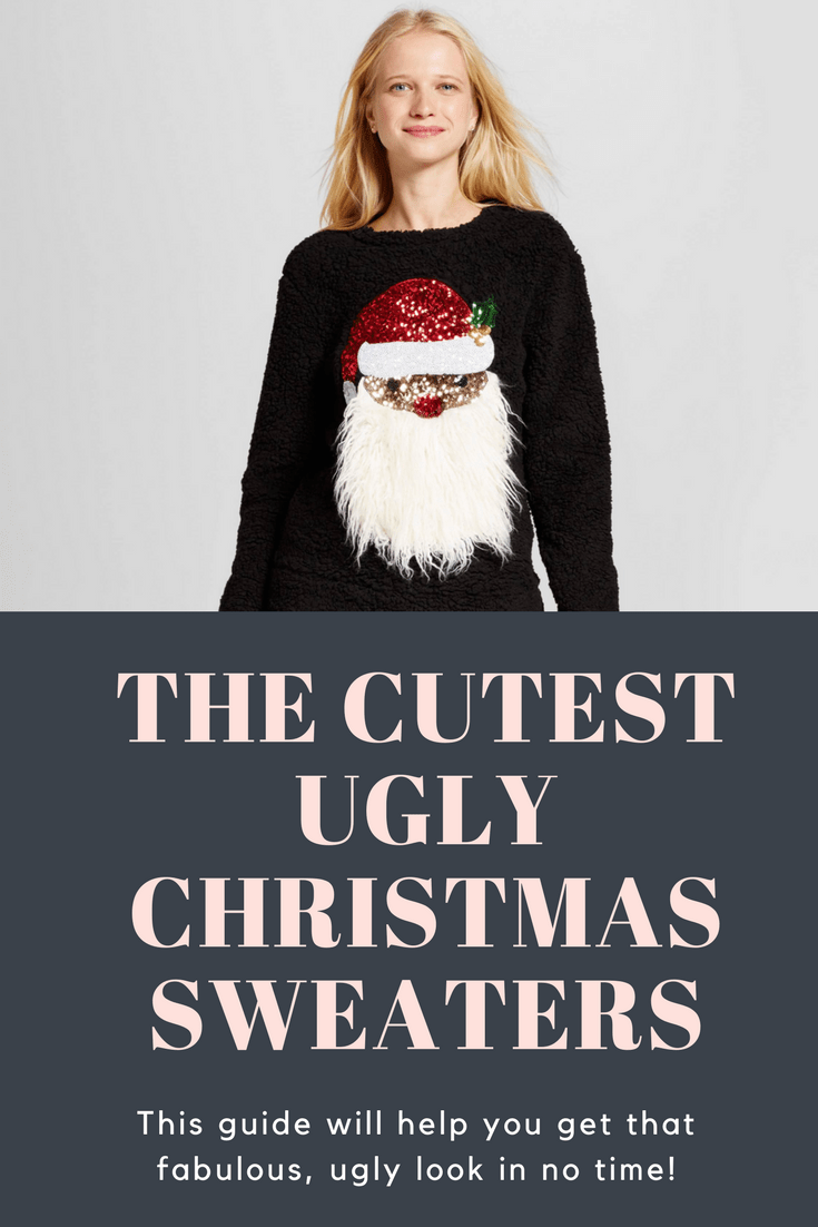 The cutest ugly christmas sweaters