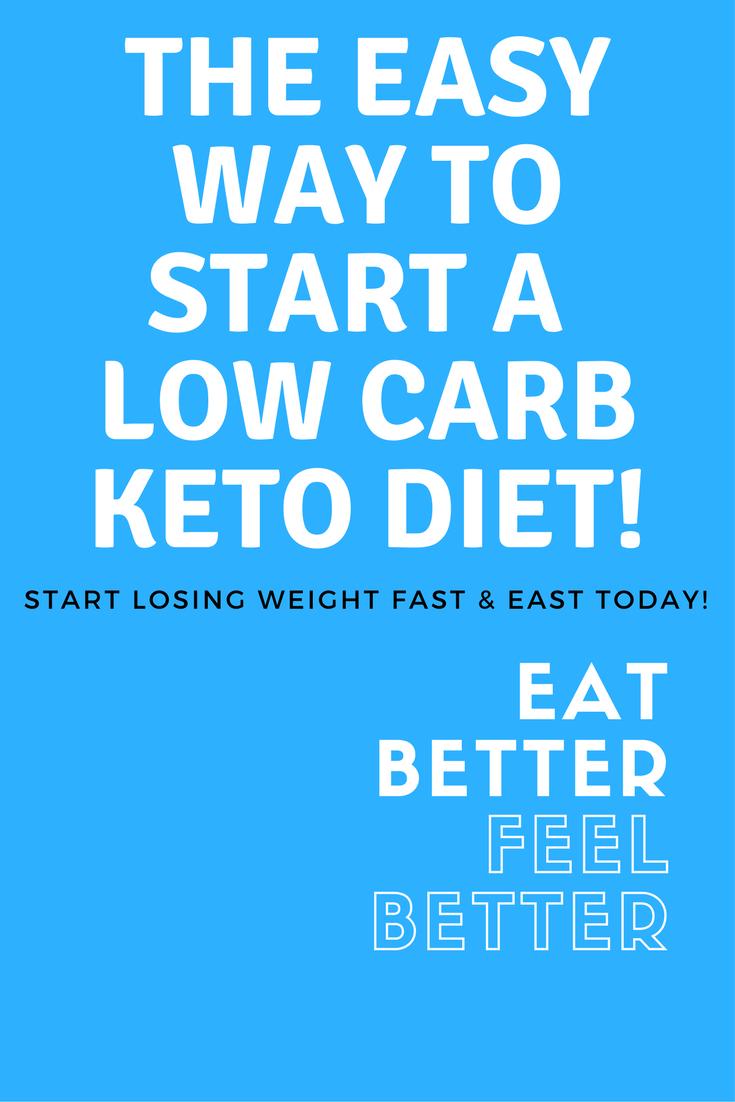 Easy start keto diet