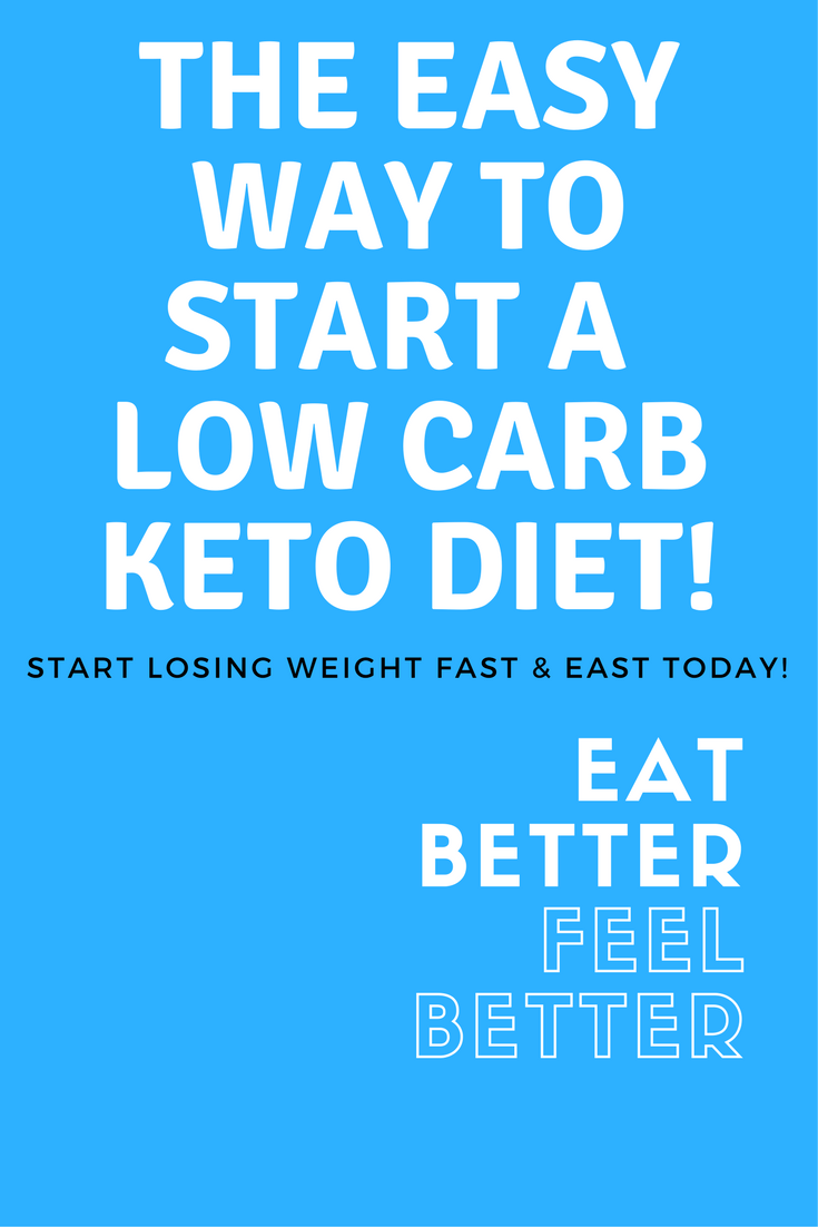 The Easiest Way to Start a Low Carb Keto Diet! #loseweightfastandeasy #lowcarb #keto