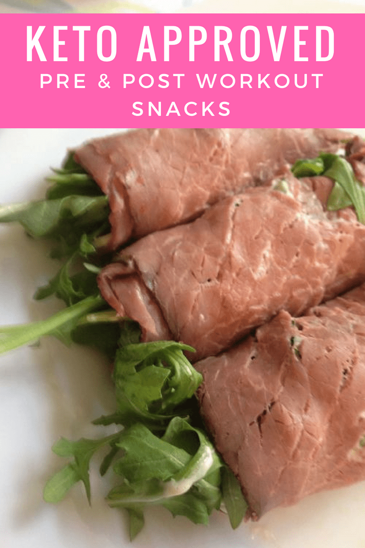 The Best KETO Pre \u0026 Post Workout Snacks