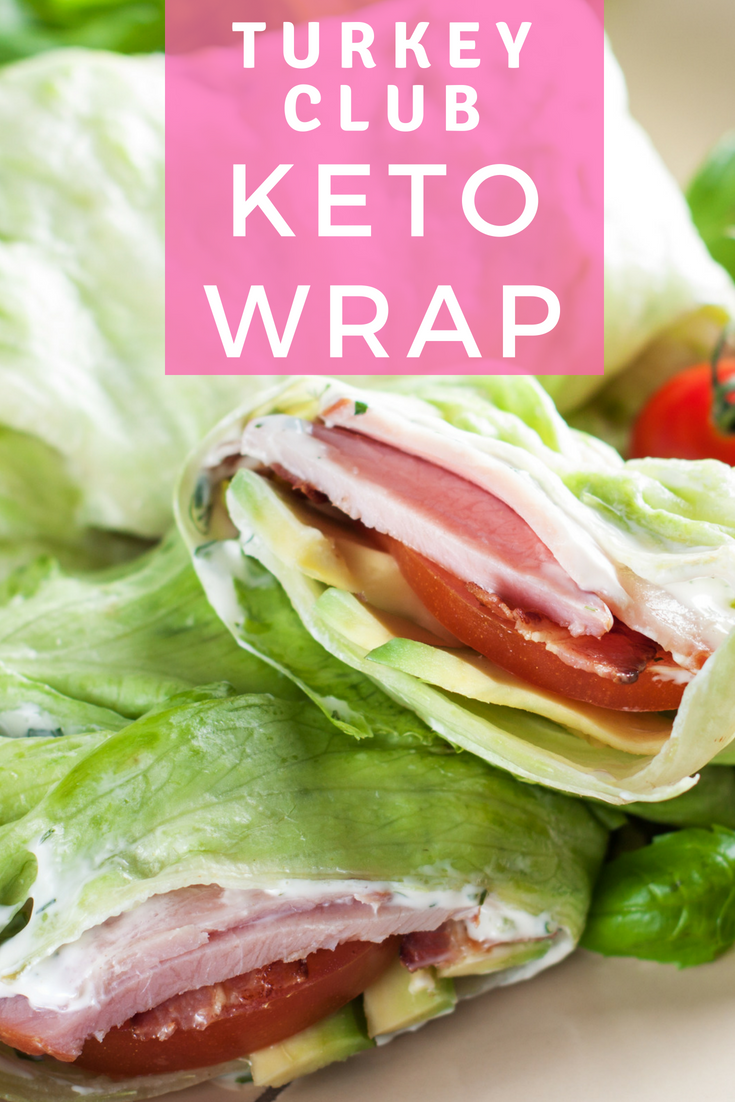 Keto Turkey Club Lettuce Wrap #keto #ketodiet #ketogenic #ketodier #ketorecipes #ketoluch #ketobreakfast #lchf #lowcarb