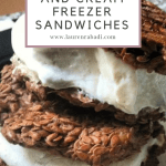 Keto Pumpkin Pie and Cream Freezer Sandwiches