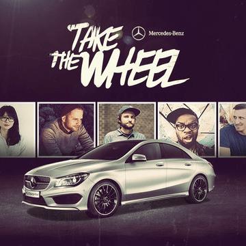 Mercedes Take the Wheel logo