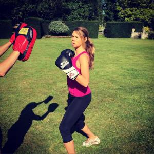 Boxing in the sunshine!