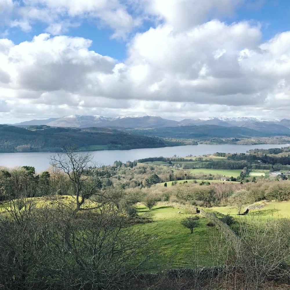 Views from today's walk- reminded me that you don't always have to get on ✈️ to see something beautiful #thelakedistrict #views #hills #walk #wanderlust #travel
