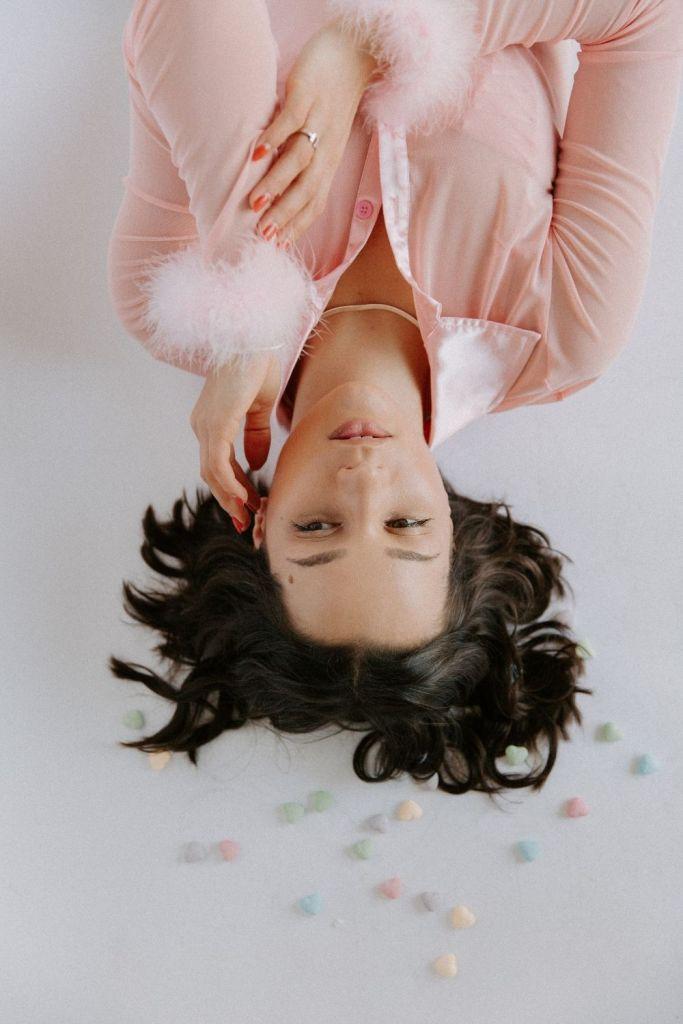 Pink Valentine's Day Photoshoot Inspiration Ideas