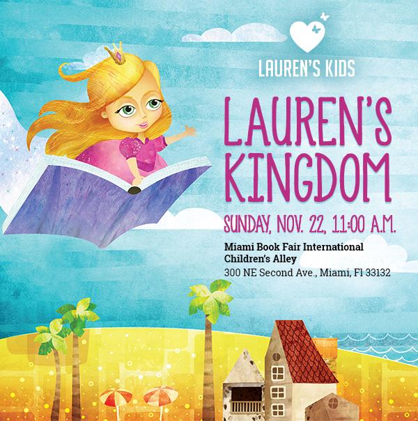 Check out Lauren's Kingdom at the Miami Book Fair.