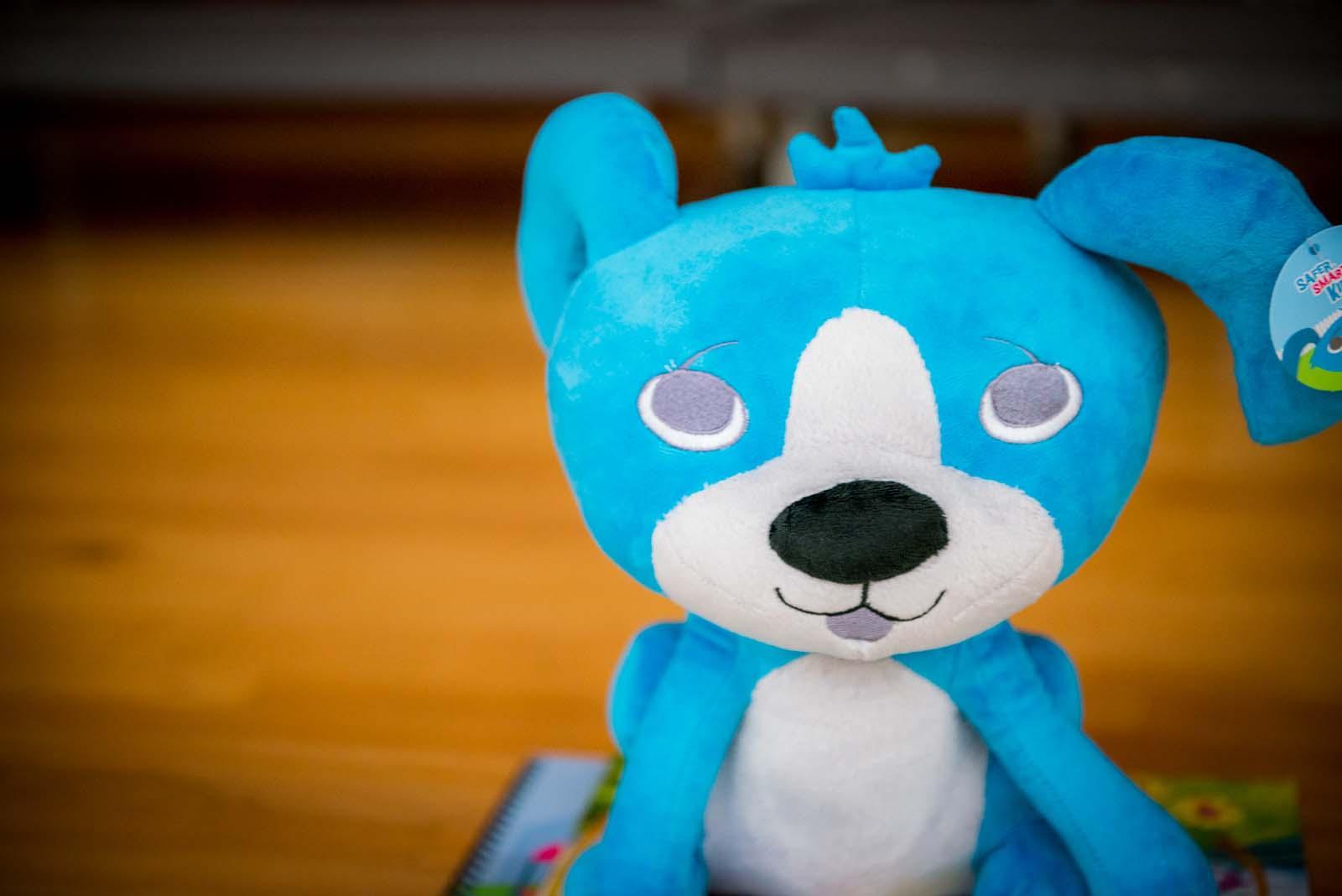 A Little Blue Dog