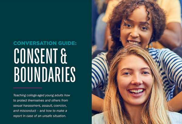 College Conversation Guide: Consent, Reporting, and Title IX