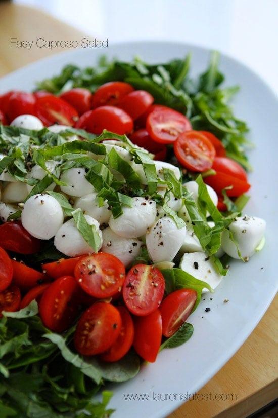 Best Caprese Salad Recipe Plus Dressing Lauren39s Latest