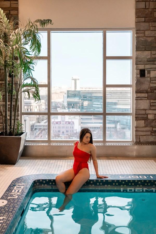 Hyatt Regency Calgary - Health Club Pool