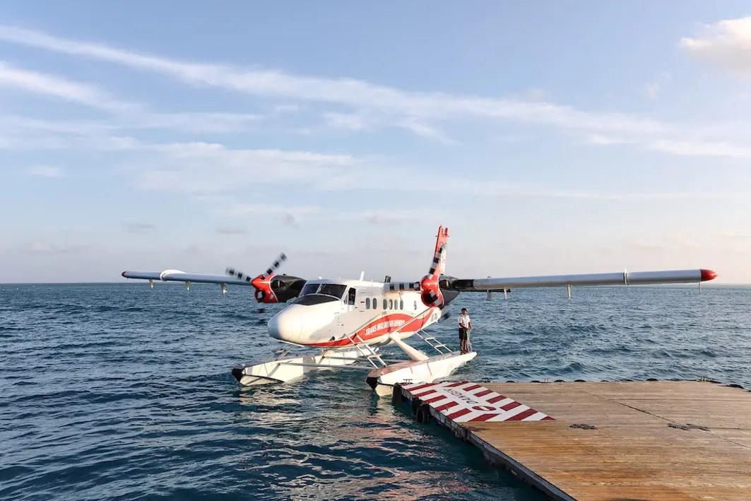 Conrad Maldives - Seaplane