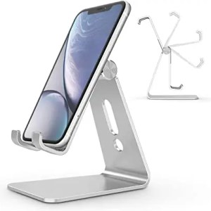 Phone stand, silver