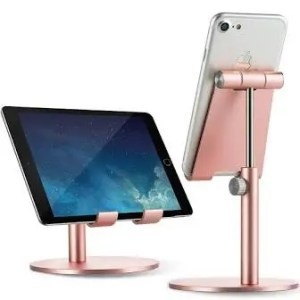 Phone stand, rose gold