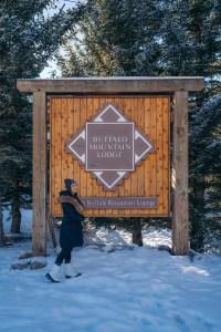 Buffalo Mountain Lodge - entrance sign