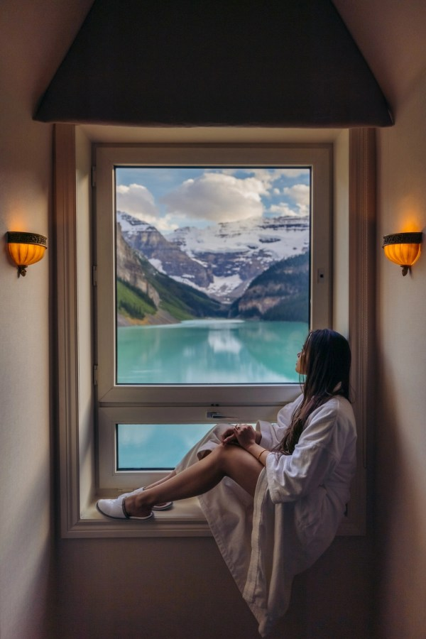 Fairmont Chateau Lake Louise Lakeview Room top floor