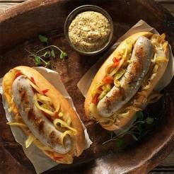 German bratwurst sausage