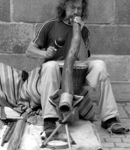 Musician on the Charles Bridge.