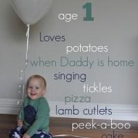 little love: smith - month twelve