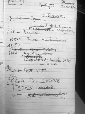 mon agenda du quoitidien
