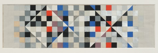 John Ernest, Study for Mosaic Relief for the International Union of Architects Sixth Congress, 1961