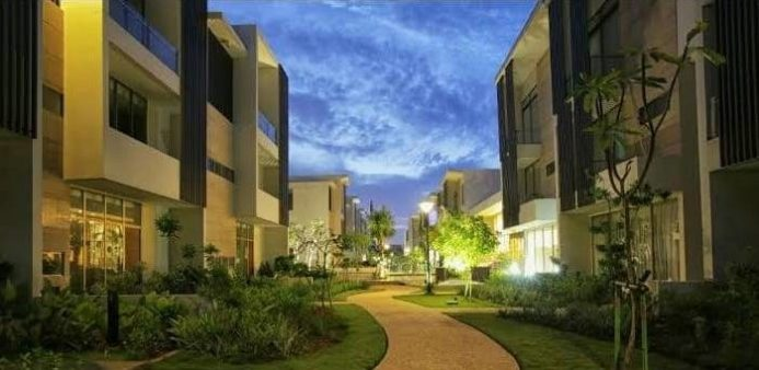 jaya ancol seafront resort townhouse