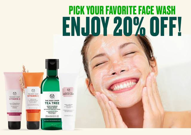 Body Shop Promo 20% Off