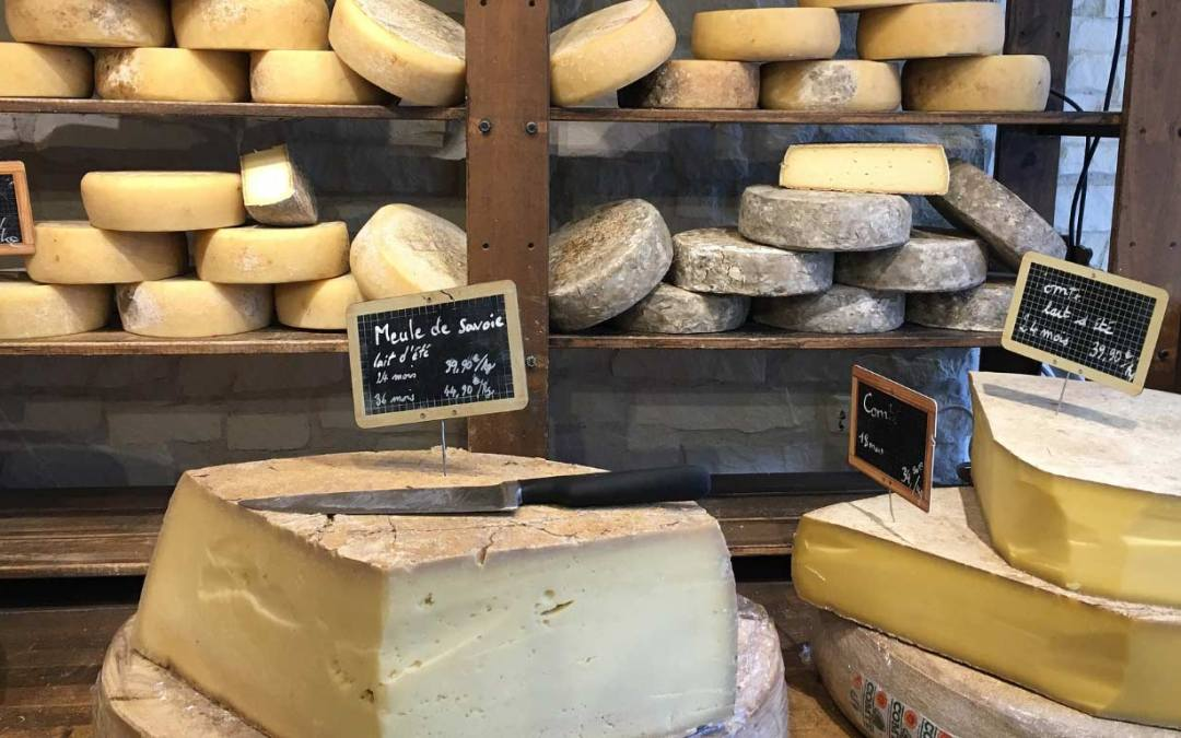 Hier j'ai acheté du fromage non bio