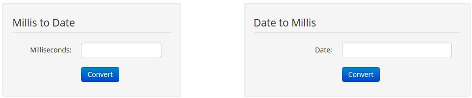 Convert date milliseconds online