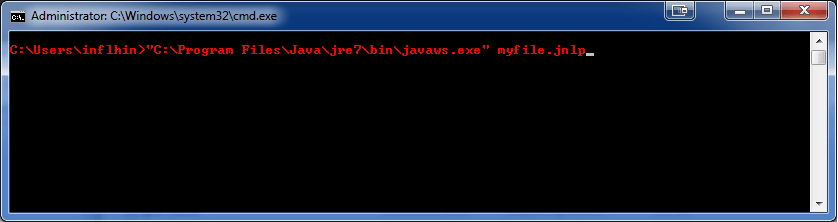 How to use a JNLP file – Laurent Hinoul