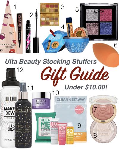 Ulta Beauty Stocking Stuffers under $10.00