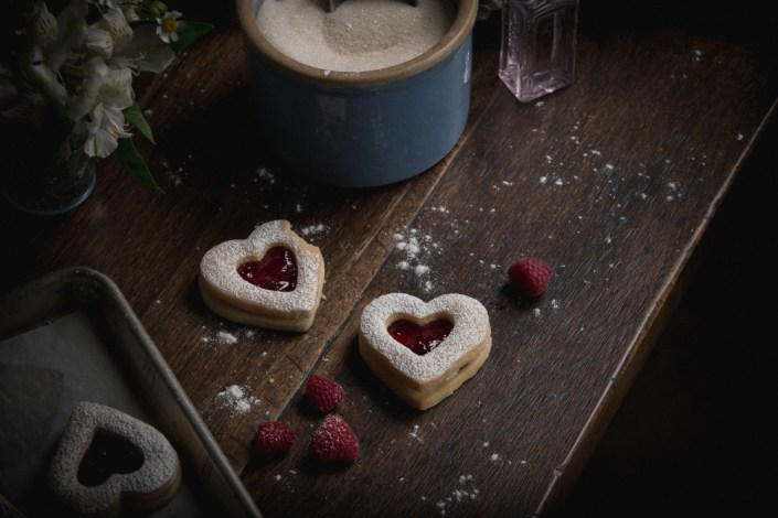 Valentines Food Styling