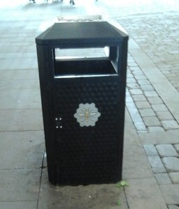 Not a letter box. But nice bee.
