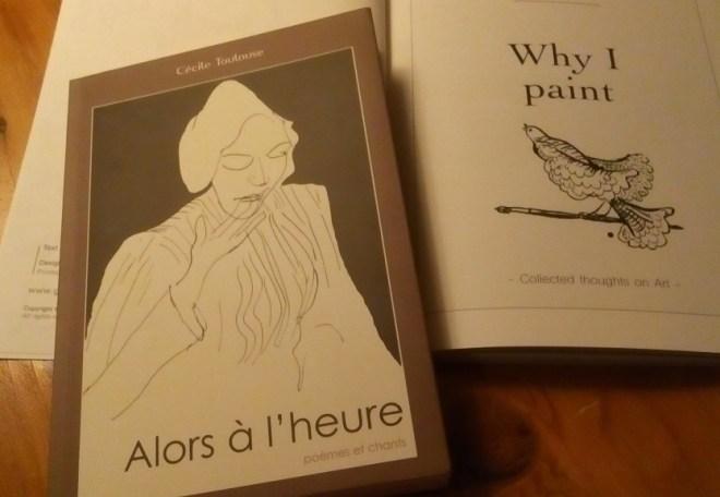 Poems by Cécile Toulouse