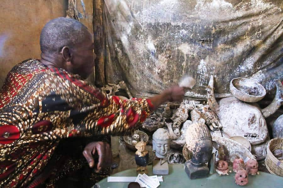 Visiting the World's Largest Voodoo Market in Togo, West