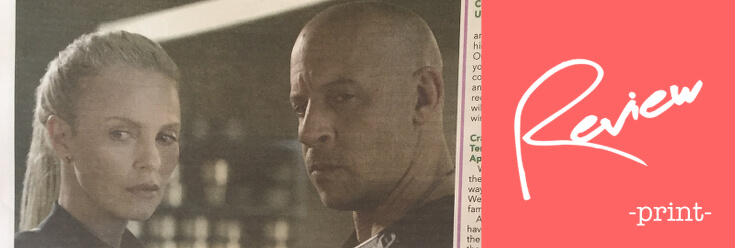 Fast & Furious 8 Review – The Oxford Paper (13 Apr 17)