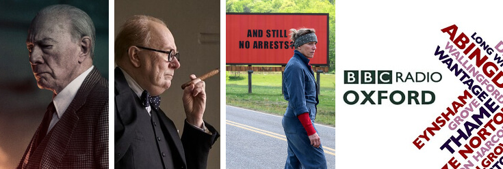 Reviews: All the Money in the World, Darkest Hour & Three Billboards Outside Ebbing Missouri – BBC Oxford Drivetime with Howard Bentham (11 Jan 18)