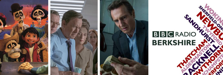 Reviews: Coco, The Post & The Commuter – BBC Berkshire with Tony Blackburn (19 Jan 18)