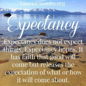 Laurie Coombs » Expectation v  Expectancy