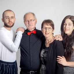 Une séance photo en studio avec la famille Tremblay à Rimouski !