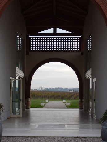 A view of Lugana's vineyards from the Le Morette winery. (Photo by Steve Jankowski)