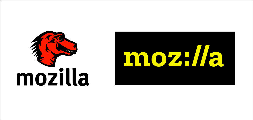 Mozilla Logo Comparison