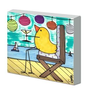 Bird With Martini