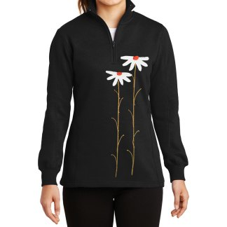 14-Zip-Sweatshirt-black-daisiesW