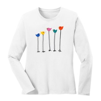 LS-Tee-white-multi-bird-row