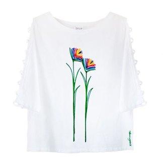 LLST-Lattice-Sleeve-white-bird-of-paradise