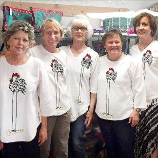 Ladies Crinkle Cotton